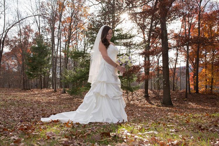 Bride in Field 10