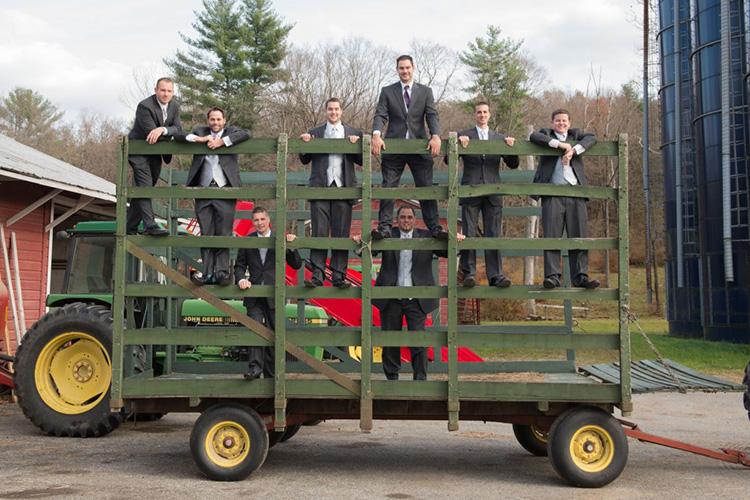 Men on Cart 06